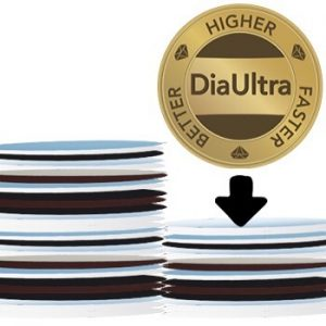 With DiaUltra you can reduce your preparation time with up to 40%. This means that you can also reduce your consumption of diamond suspension and polishing cloths accordingly. Your consumables will last for the same length of time as they always have done. By reducing the preparation time, you can reduce the actual cost per preparation remarkably. #akasel #thesmarteralternative #metallography #materialscience #samplepreparation #diaultra